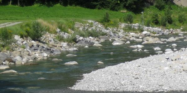 Wandern entlang der Bregenzerache