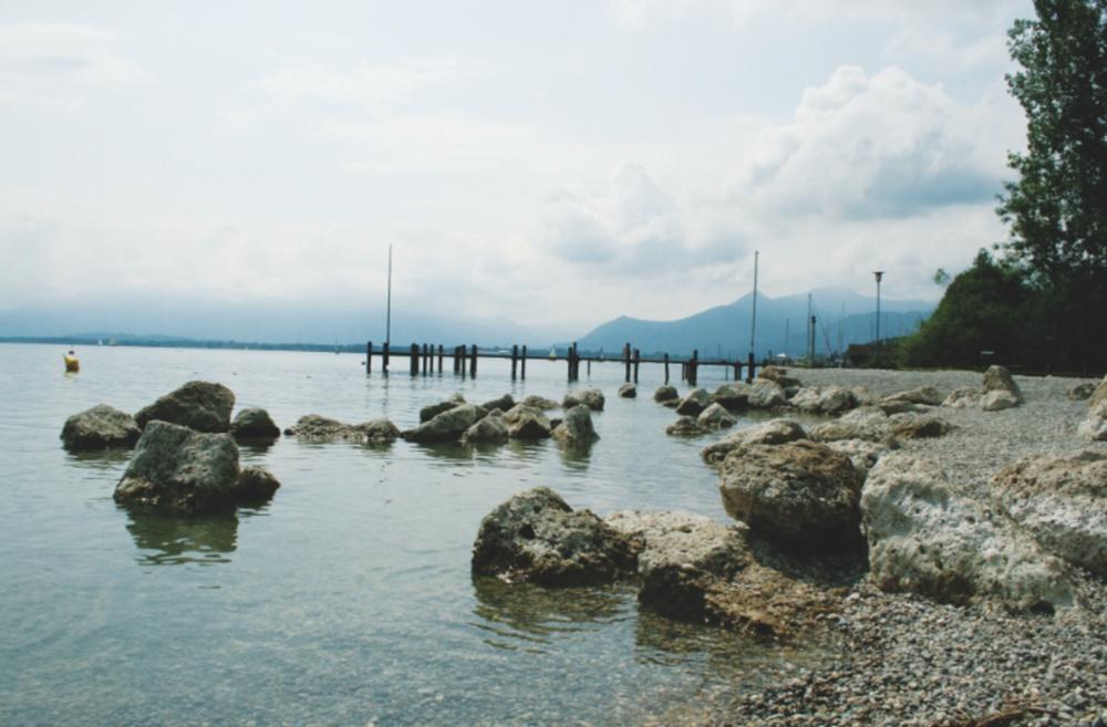 Schramlbad mit Bergblick