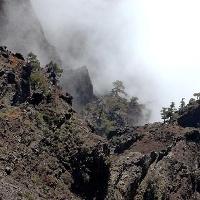 Ein beeindruckender Blick von Pico de las Nieves hinab.