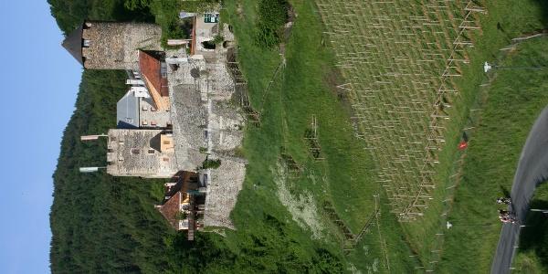 Burg Deutschlandsberg mit Jakobiweg