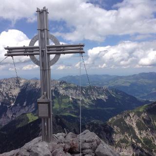 Ausblick am Fleischbank Gipfel