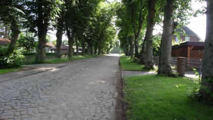 Dorfstraße Flessenow