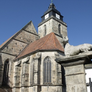 Stadtkirche - Eisfeld