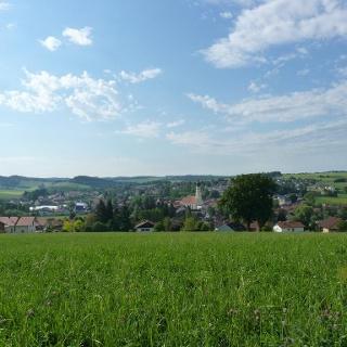 Ausblick vom Berndlberg auf Triftern