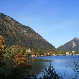 Blick auf Walchensee.