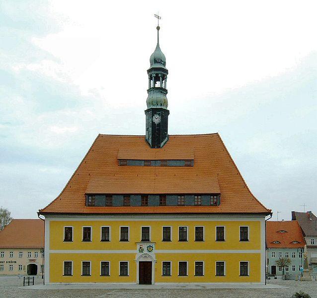 Foto Das Rathaus in Neustadt.