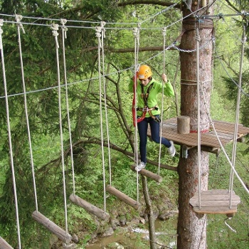 Waldseilgarten Höllschlucht