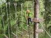 Kletterspaß im Waldseilgarten Höllschlucht - @ Autor: Julian Knacker - © Quelle: Pfronten Tourismus