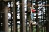 Action im Waldseilgarten Höllschlucht - @ Autor: Julian Knacker - © Quelle: Pfronten Tourismus