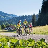 Radfahren im Vilstal