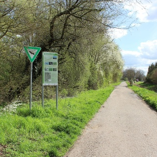 Zugang vom Kretzerweg in Laubenheim