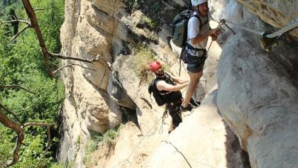 Klettersteig Känzele : Klettersteig känzele u aktuelle bedingungen outdooractive