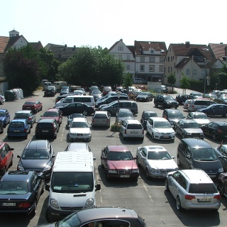 Parkplatz City-Center