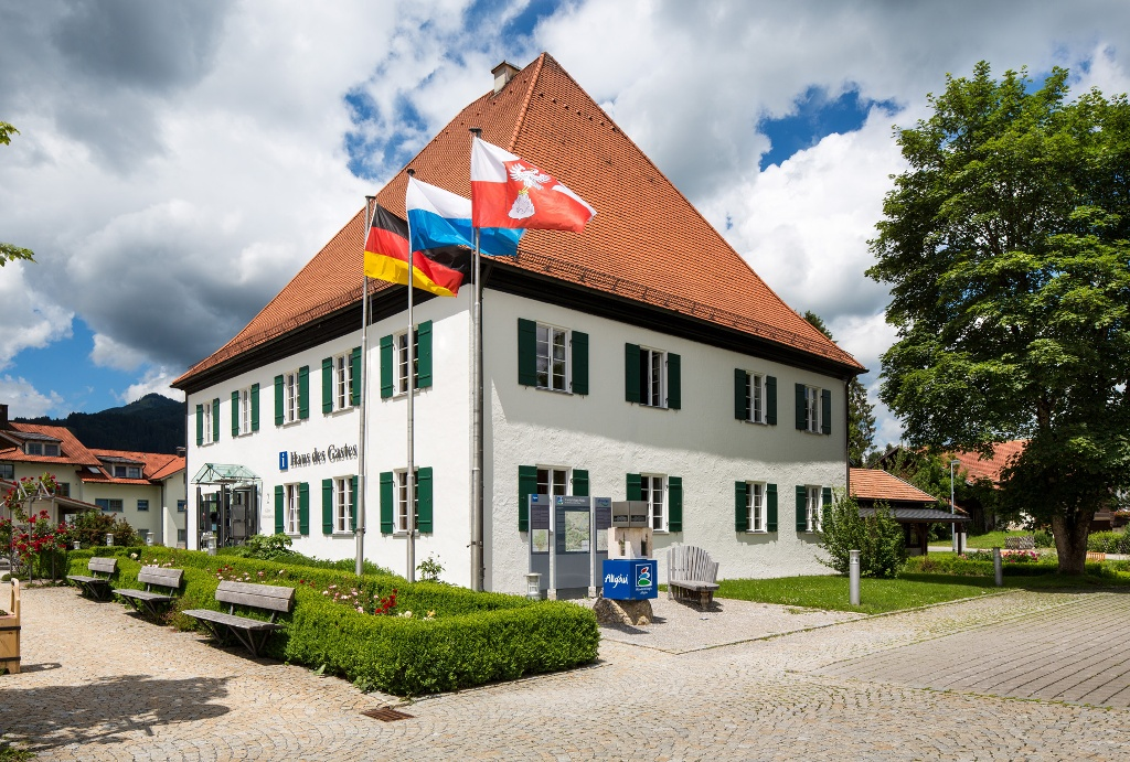 Haus des Gastes in Pfronten-Ried - @ Autor: Julian Knacker - © Quelle: Pfronten Tourismus