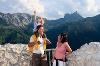 Aussichtsplattform in der Burgruine Falkenstein - @ Autor: Julian Knacker - © Quelle: Pfronten Tourismus