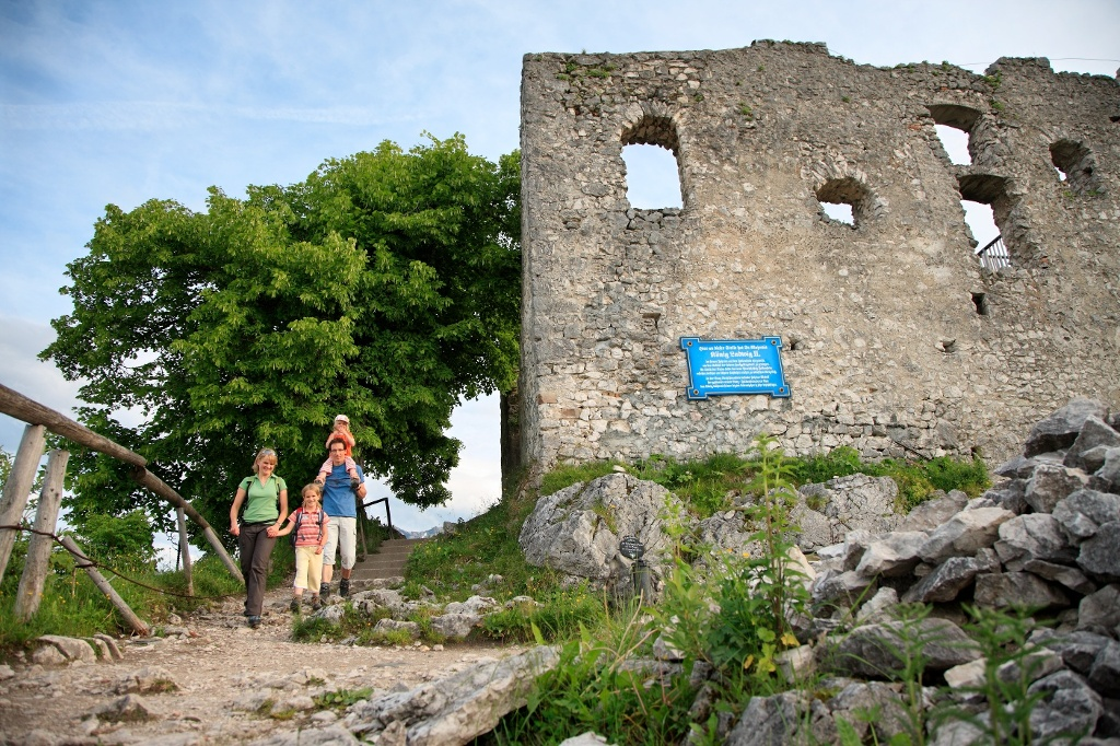 Burgruine Falkenstein - @ Autor: Julian Knacker - © Quelle: Pfronten Tourismus