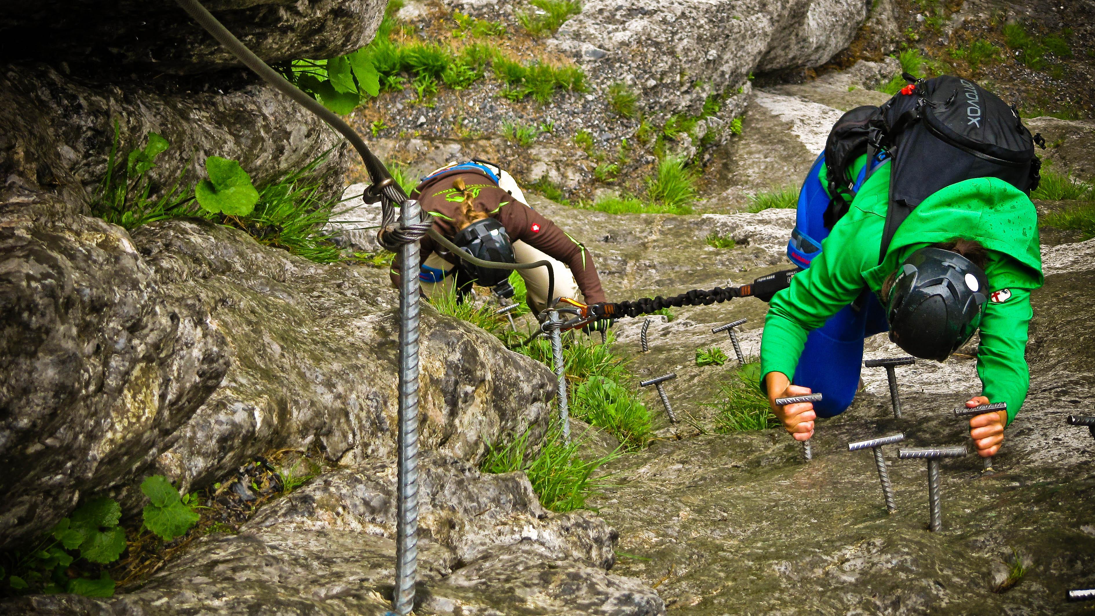 Klettersteig Andermatt : Themenspecial klettersteige der erste klettersteig geschichte