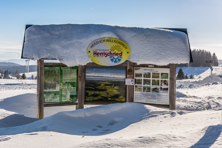Winter - Herrischried: Winterwanderung - Lochhäuser Runde