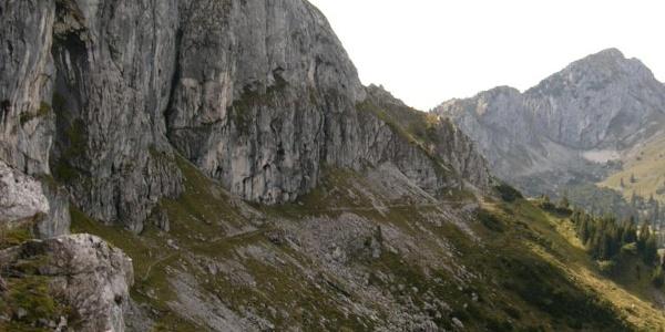 Weg zum Gabelschrofen bei Schwangau