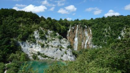 der große Wasserfall, Fallhöhe 78m