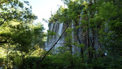 Mali Prstavac, Fallhöhe 18m
