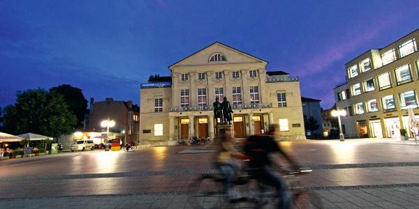 Theaterplatz, Weimar