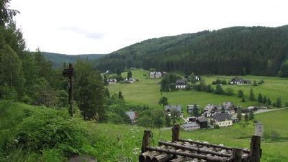 Blick vom Kammweg auf Rittersgrün