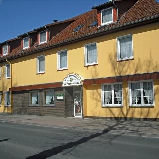 Außenansicht Hotel Zur Stemmer Mühle