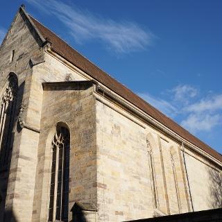 Kirchenschiff und Turm - Predigerkirche Erfurt