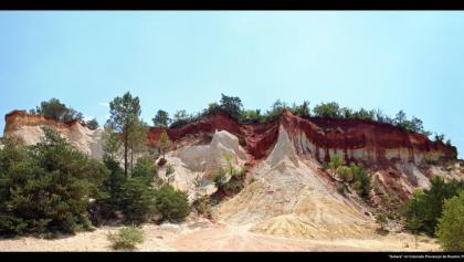 """""""Sahara"""" im Colorado Provençal de Rustrel"""