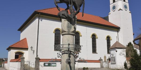 Kirche St. Andreas in Trauchgau