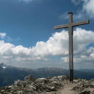 Gipfelkreuz auf der Hammerspitze.