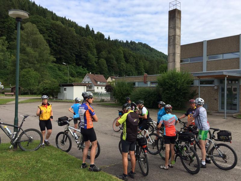 Calmbach zum Turmberg in Karlsruhe
