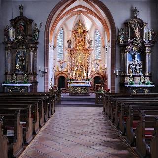 Wallfahrtskirche Maria zu den Ketten in Zell am Harmersbach