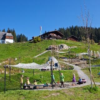 Silberspielwelt mit St. Agatha Bergknappenkapelle
