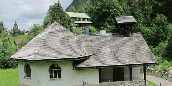 Kapelle Maria Hilf an der Leidtobelbrücke