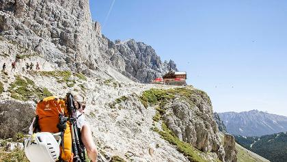 Hütten im Trentino