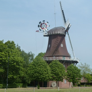 Mühle in Upgant Schott