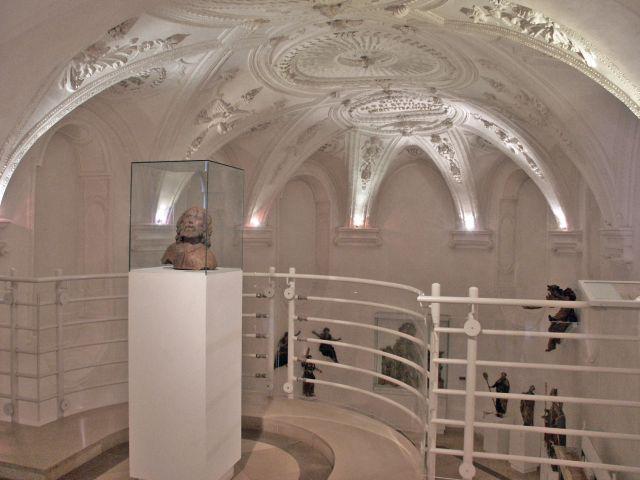 Blick von der Empore des Schongauer Stadtmuseums (Stadtmuseum Schongau)