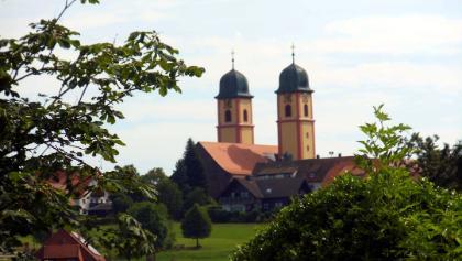 Blick von der Ohmenkapelle nach St. Märgen