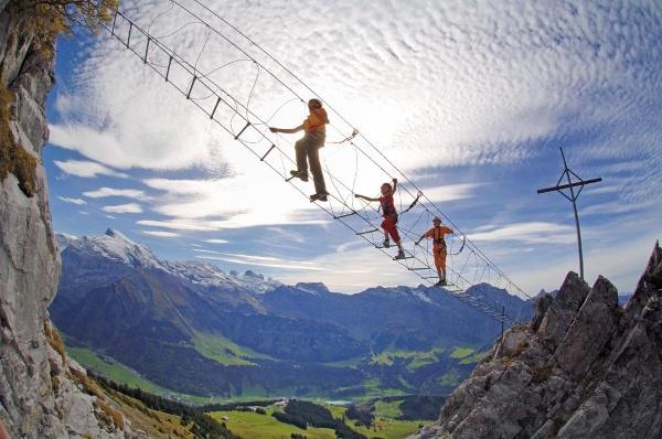 Klettersteig Brunni : Die schönsten klettersteige in engelberg titlis