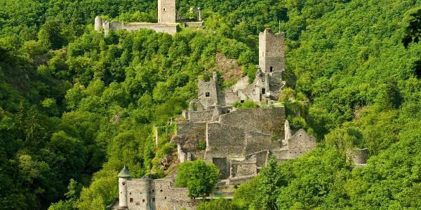 Manderscheider Burgen im GesundLand Vulkaneifel