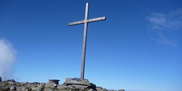 Zirbitzkogel-Gipfelkreuz 2396 m