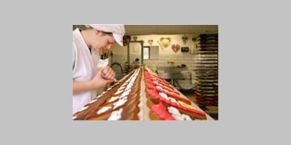 Lebkuchenherstellung von Ravensberg