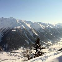 Aussicht Galmihornhütte
