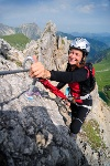 Der Friedberger Klettersteig  - @ Autor: TVB Tannheimer Tal  - © Quelle: Tourismusverband Tannheimer Tal