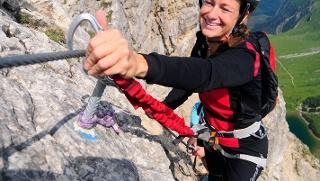 Der Friedberger Klettersteig