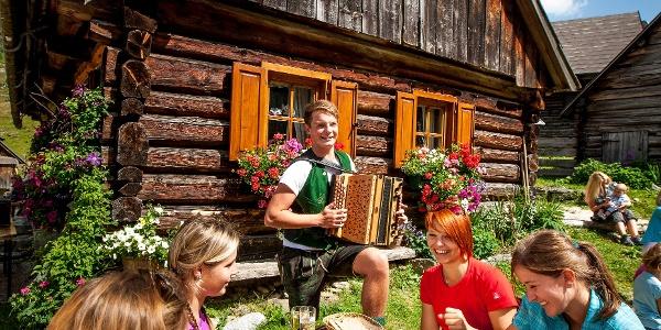 Alm-Kulinarik auf der Schrabachalm