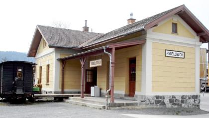 Alter Bahnhof in Andelsbuch
