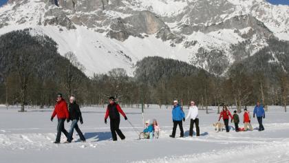 Winterwandern am Ramsauer Plateau